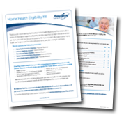 Home Health Patient Eligibility Kit